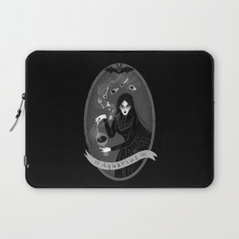 Aquarius Witchy Zodiac Laptop Sleeve