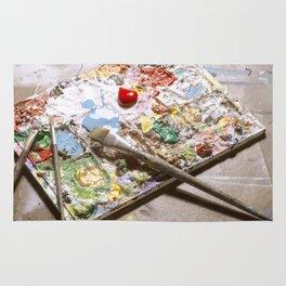 Artists Pallet. Rug