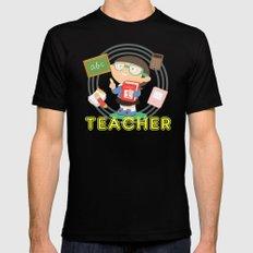 teacher Mens Fitted Tee Black MEDIUM