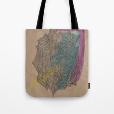 'Abstract of Your Face' Tote Bag