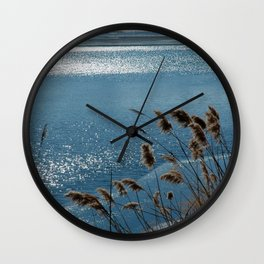 Layering with Ice Wall Clock