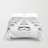 army Duvet Covers featuring Trooper Army by Guimov