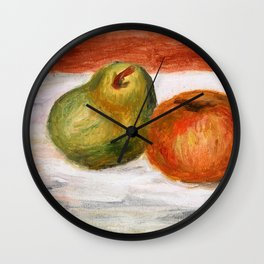 Apple And Pear - Digital Remastered Edition Wall Clock