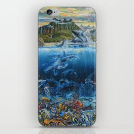 Five Oceans All One iPhone Skin