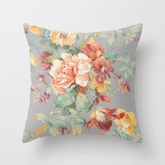 fall garden Throw Pillow