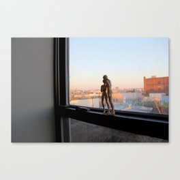 Androids in Bushwick Canvas Print