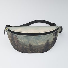Snow capped Sierras Fanny Pack