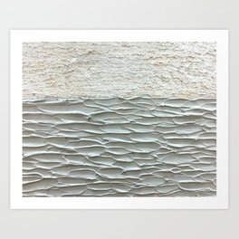 Grey Seas 2 Art Print
