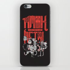 Amok and Totally Metal iPhone & iPod Skin