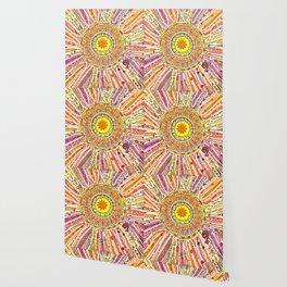 Sun Drawing Wallpaper