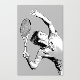 Roger's Trophy position Canvas Print