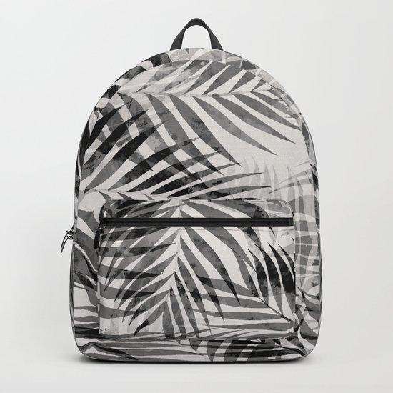 Palm Leaves - Black & White by silverpegasus