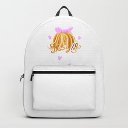 Girl Power Curly Hair Don't Care Backpack