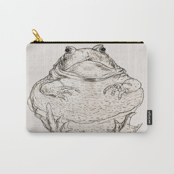 Draw Me Like One Of Your French Frogs Carry-All Pouch