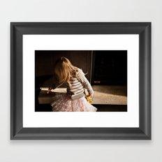 Play Time Framed Art Print