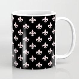 Black & Pale Pink Chic Coffee Mug