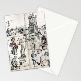 Venus und Mars Stationery Cards