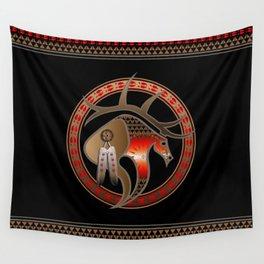 Hehaka (Elk) Wall Tapestry
