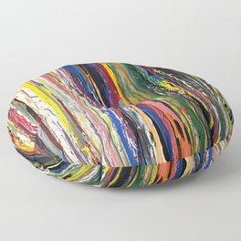 Running Color Floor Pillow