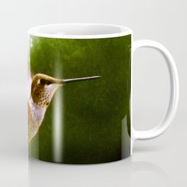Moonlit Iridescence Hummingbird Coffee Mug