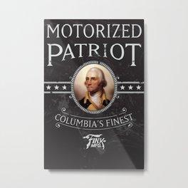 Bioshock Motorized Patriot Metal Print