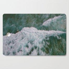 Surf Photography, Beach Wall Art Print, Ocean Water Surfing, Coastal Decor Cutting Board