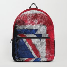England flag Grunge Backpack
