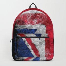 England flag Grunge Backpack