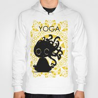 yoga Hoodies featuring Yoga by BLOOP