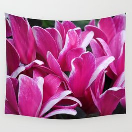 Cyclamen - Floral Wall Tapestry
