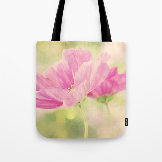 Cosmos in the Pink I Tote Bag