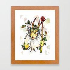 Wood Spirit Framed Art Print