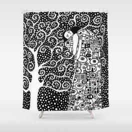 Gustav Klimt - The tree of life Shower Curtain