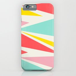 Shattered Waves iPhone Case