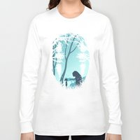 lonely Long Sleeve T-shirts featuring Lonely Spirit by filiskun