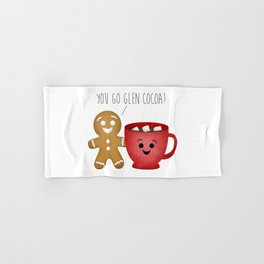 You Go Glen Cocoa! Hand & Bath Towel