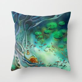 Life of Pi Throw Pillow