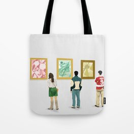 Ferris Bueller at the Art Museum Tote Bag