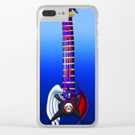 Fusion Keyblade Guitar #171 - Skull Noise & Way to the Dawn Clear iPhone Case