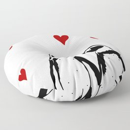 Love Penguins Floor Pillow