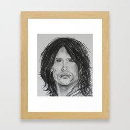 Steven Tyler Framed Art Print