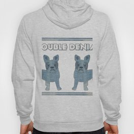 Double Denim French Bulldogs Hoody