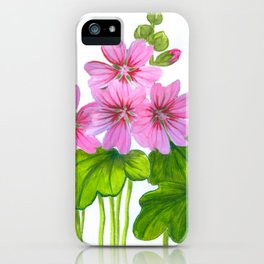 Field of mallows iPhone Case