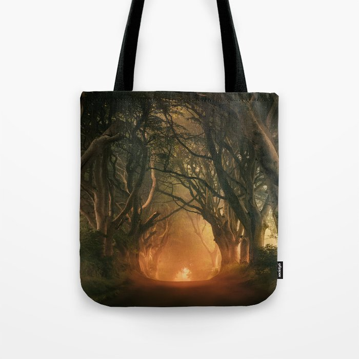 When the day begins... Tote Bag