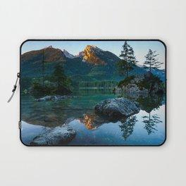 Berchtesgaden lake mountains sunset Bavaria Germany Laptop Sleeve