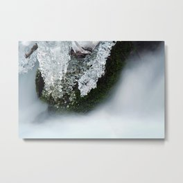 Ice Water Metal Print