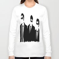 dogs Long Sleeve T-shirts featuring Dogs by David N.