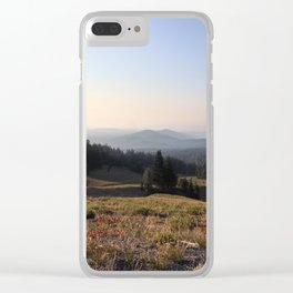 Smoky Oregon Clear iPhone Case