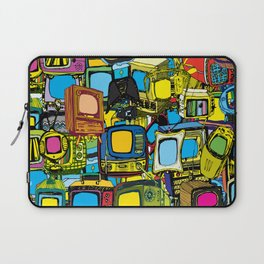 Televisions of various ages Laptop Sleeve