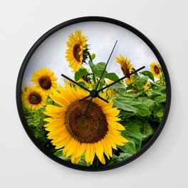 Reaching for the Sun Wall Clock